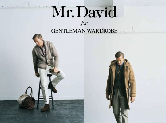 beams genteleman wardrobe 0 Beams Fall/Winter 2011: Mr. David for Gentleman Wardrobe