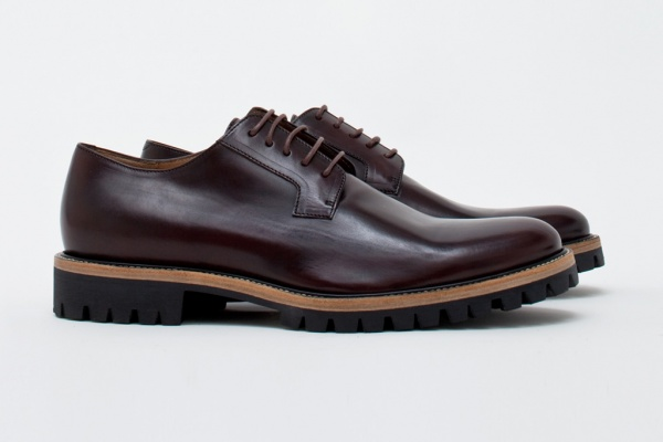 dires van noten dress shoe 1 Dries Van Noten Aubergine Dress Shoe