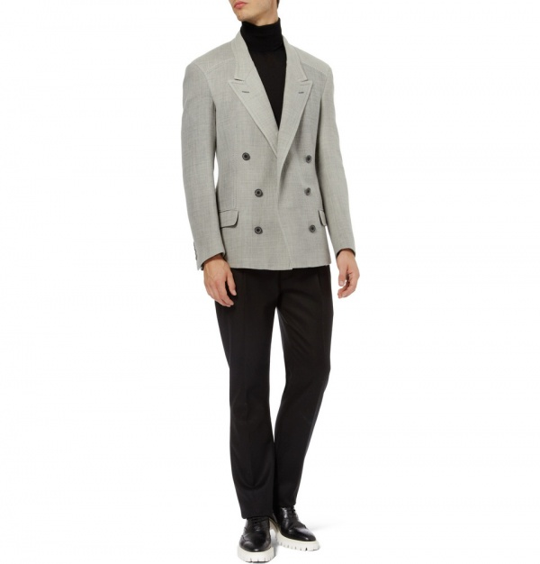 LanvinMagnetSuit3 Lanvin Magnet Closure Double Breasted Jacket