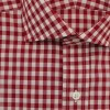 dc75.gb001.046 a1 100x100 Drakes Semi Spread Collar Single Cuff Gingham Shirt