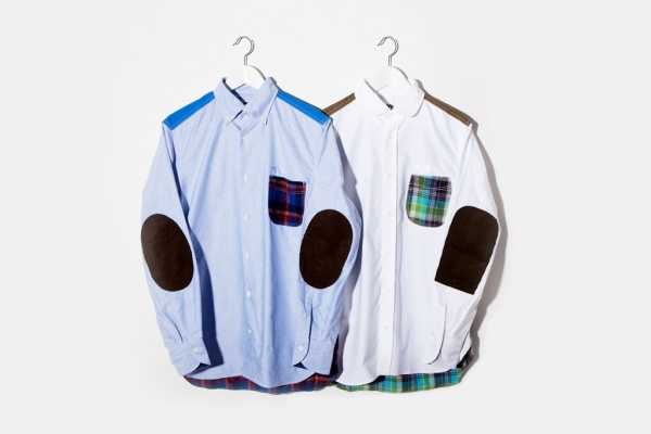 junya watanabe eye comme des garcons patchwork shirts 1 Junya Watanabe eYe Comme des Garcons Patchwork Shirt