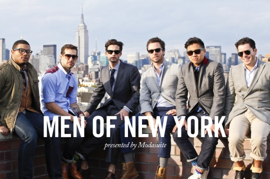 men of nyc blogs23 Video: Modasuite Presents The Men of New York