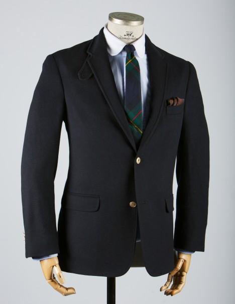 normanhilton20110813 0003 1 Norman Hilton Charter Navy Flannel Blazer