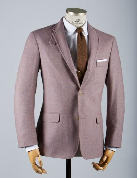 normanhilton20110813 0005 Norman Hilton Cannon Lavender Tweed Sport Coat