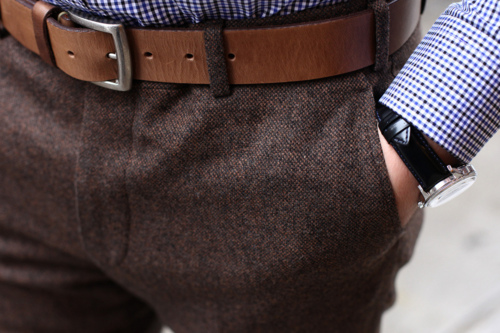 tumblr luv9qfSPLz1qfex1b Epaulet Fall/Winter 2011 Donegal Trousers