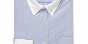Kitsuné Constrast Cuffs & Collar Oxford Shirt