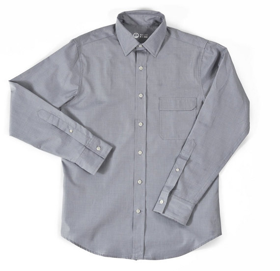 Outlier two ply pivot shirt suitored for 2 ply cotton shirts