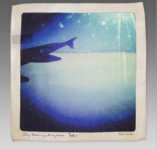 paulsmth e1327684932213 Paul Smith Smithstamatic Flight Pring Handkerchief