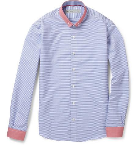 184799 mrp in l Etro Arles Contrast Trim Striped Shirt
