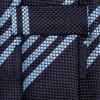 187995 mrp bk l 100x100 Drakes Triple Stripe Slim Woven Silk Tie