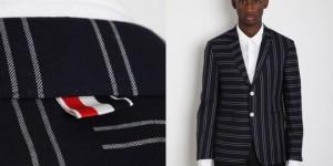 Thom Browne Mixed Stripe Blazer