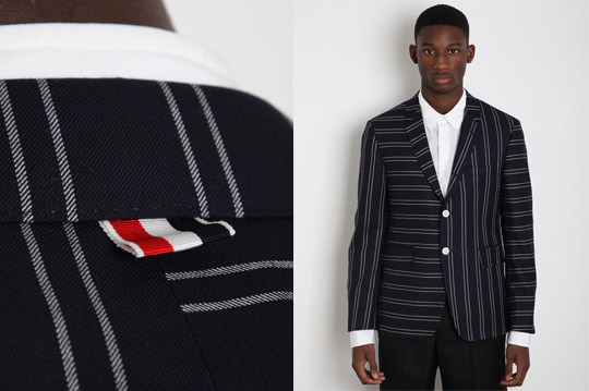 Thom Browne Mixed Stripe Blazer Thom Browne Mixed Stripe Blazer Spring/Summer 2012