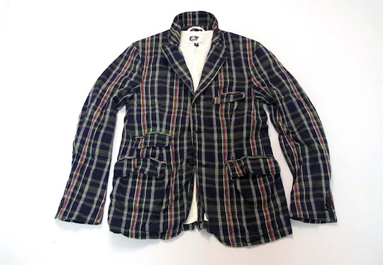 nepenthes blazer 02 Engineered Garments Spring/Summer 2012 Madras Jacket