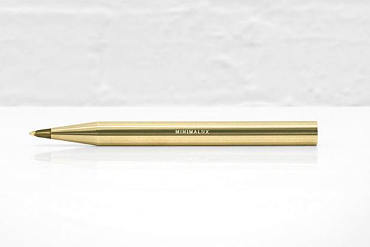 Minimalux BallPoint 5 Minimalux Brass Ballpoint Pen