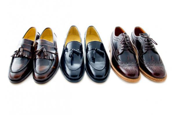 london handmade brown shoes 1 London Brown Handmade Shoes