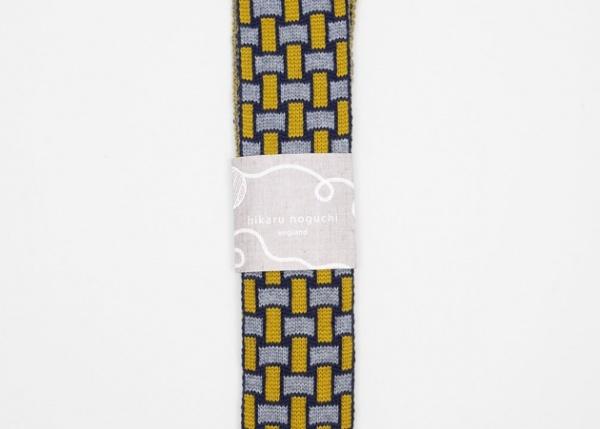 hiraku noguchi 2 Hikaru Noguchi Knitted Neckwear Made in England