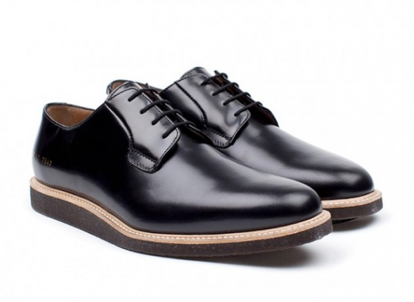 common projects derby shoes 02 630x460 Common Project Derby Shine Shoes