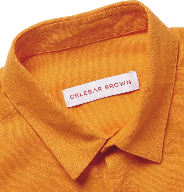 329558 mrp cu xl Orlebar Brown Fleming Linen Shirt