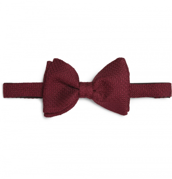 339553 mrp in xl Lanvin Woven Silk Bow Tie