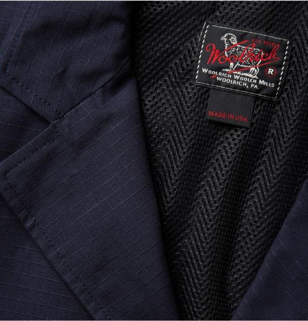 342784 mrp e1 xl Woolrich Woolen Mills Lightweight Ripstop Cotton Blazer