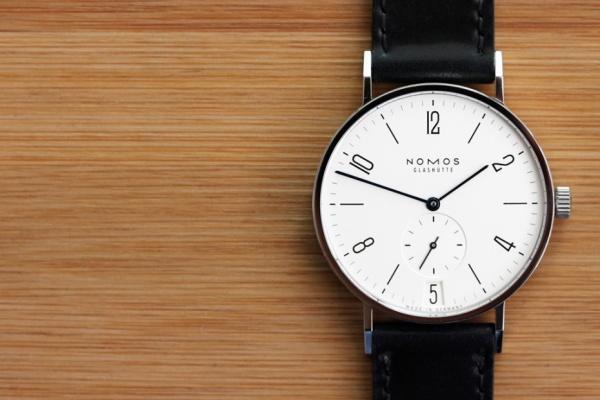 nomos tangente datum watch 1 Nomos Tangente Datum Wristwatch