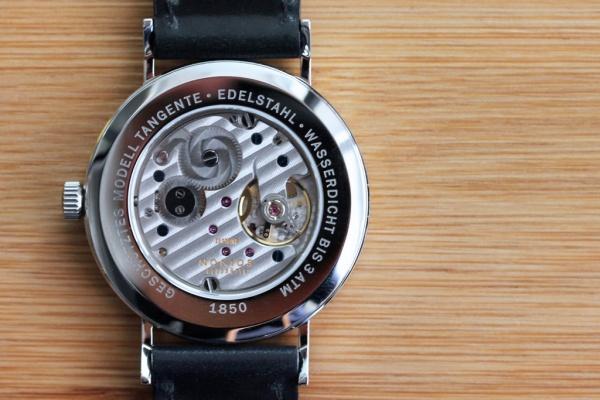nomos tangente datum watch 2 Nomos Tangente Datum Wristwatch