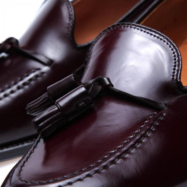 01 03 2013 alden originaltassleloafer darkburgundycordovan d4 Alden Original Dark Burgundy Cordovan Tassled Loafer
