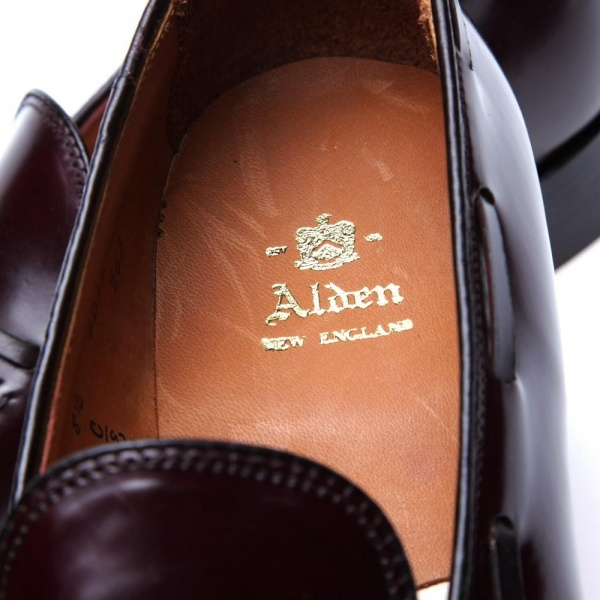 01 03 2013 alden originaltassleloafer darkburgundycordovan d6 Alden Original Dark Burgundy Cordovan Tassled Loafer