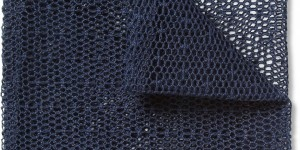 Marwood Mesh Lace Pocketsquare