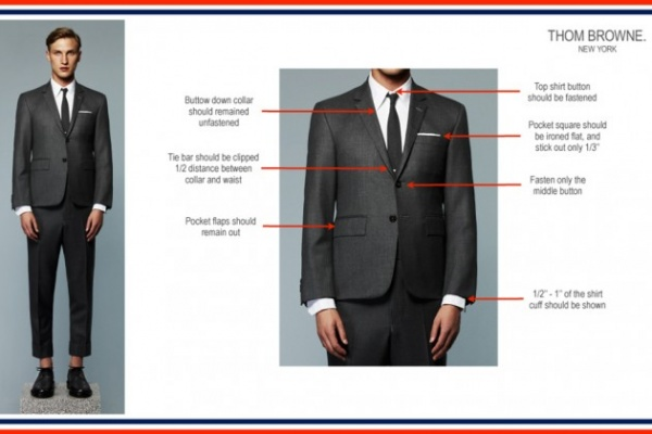 thom browne styling guidelines 02 630x420 Thom Browne Presents Styling Guidelines