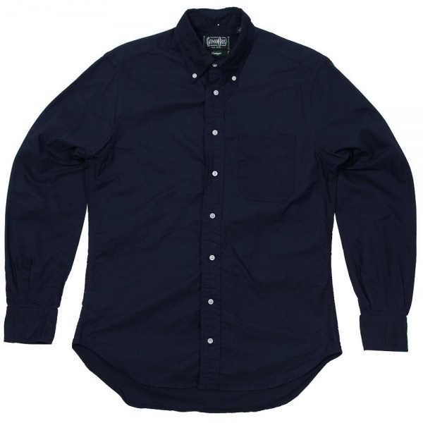 13 02 2013 gitman odoxford blue1 Gitman Vintage Overdyed Oxford Shirt