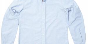 Journal Standard Coolmax Blue Oxford Shirt