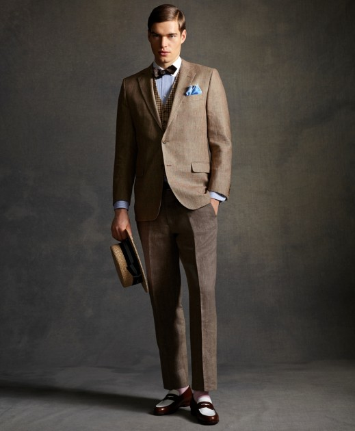 Gatsby brooksbrothers 15 519x630 Brooks Brothers The Gatsby Collection Lookbook