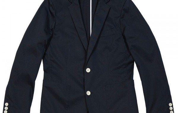 Uniform Experiment Stretch 2-Button Cotton Jacket