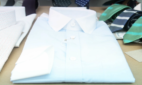 Band of Outsiders Dress Shirting Video