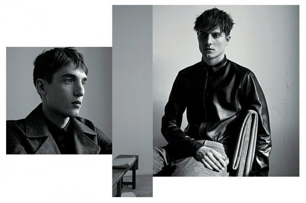 dior homme 2013 fall lookbook 3 Dior Homme Fall 2013 Menswear Lookbook