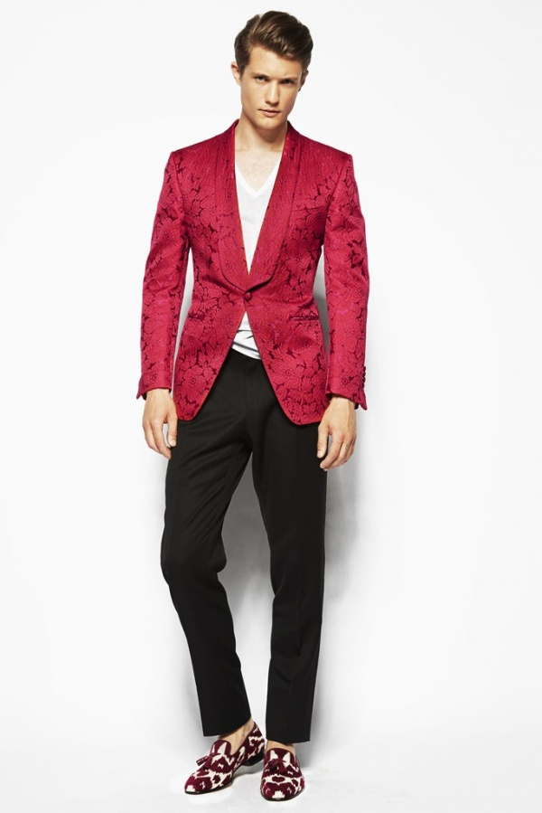 tom ford 2014 spring collection 5 Tom Ford Spring 2014 Collection