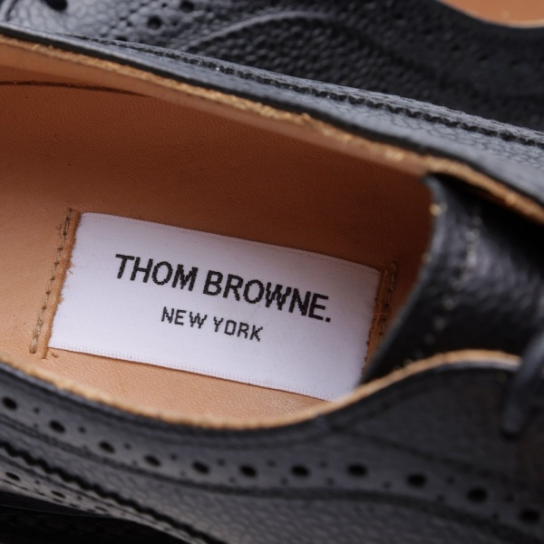 03 07 2013 tb brouguet black8 Thom Browne Long Wing Brogue