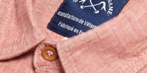 Bleu de Paname Standard Shirt Rose Chambray 1