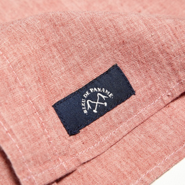 26 07 2013 bdp shirt red d  Bleu de Paname Standard Shirt In Rose Chambray