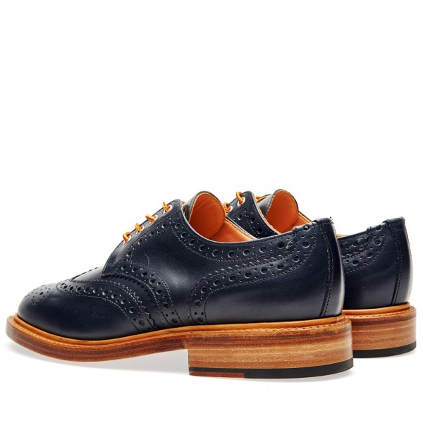 30 07 2013 mm leathersolecountrybrogue navy2 Mark McNairy Country Brogue