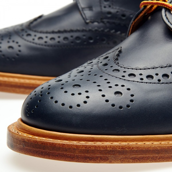 30 07 2013 mm leathersolecountrybrogue navy6 Mark McNairy Country Brogue