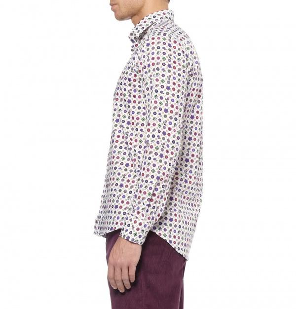 359573 mrp e1 xl Etro Printed Cotton Shirt