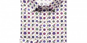 Etro Printed Cotton Dress Shirt
