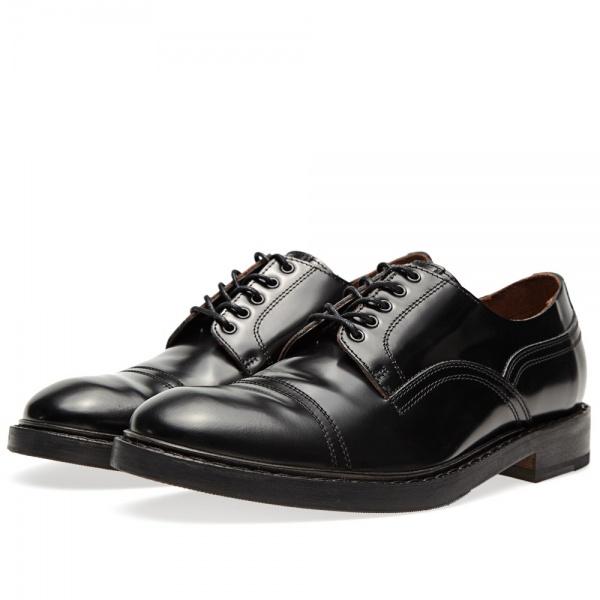 09 08 2013 acne captoederby black 1 Acne Askin Cap Toe Derby Shoe