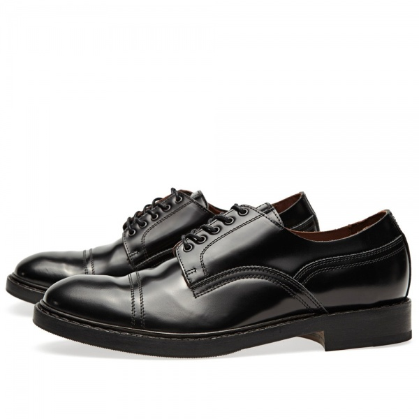 09 08 2013 acne captoederby black 2 Acne Askin Cap Toe Derby Shoe
