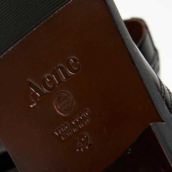 09 08 2013 acne captoederby black 6 Acne Askin Cap Toe Derby Shoe