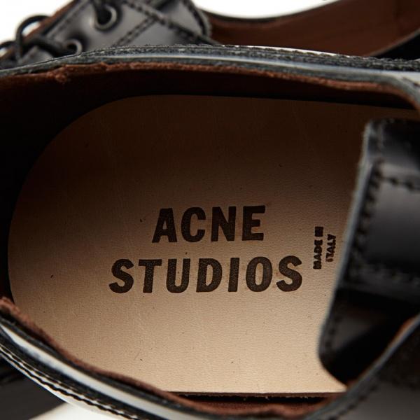 09 08 2013 acne captoederby black 7 Acne Askin Cap Toe Derby Shoe