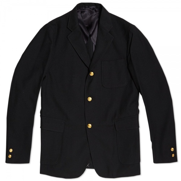 22 08 2013 beamsplus 3buttonblazer navy  Beams Plus Navy 3 Button Blazer