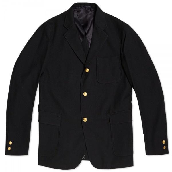 22 08 2013 beamsplus 3buttonblazer navy  Beams Plus Navy 3 Button Blazer